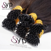 Virgin Remy Pre Bonded Keratin Human Hair Extensions i tip Straight 1g/Strand 100 Strands/Pack
