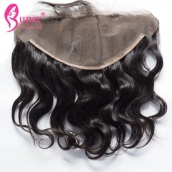 13x6 Lace Frontals With Baby Hair Brazilian Malaysian Peruvian Virgin Remy Body Wave Frontal Closure For Sale