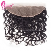 Cheap Lace Frontals Closures 13x4 Virgin Remy Human Hair Water Wave On Sale