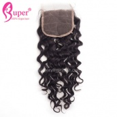 Affordable Lace Closures For Sale 4x4 Remy Human Hair Jerry Curl