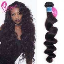 Best Brazilian Loose Wave Virgin Hair 3 or 4 Bundles Luxury Remy Human Hair Extensions For Sale Meches Bresilienne Lots