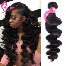 Bundle Deals Premium Brazilian Loose Wave Cheap Virgin Human Hair Extensions Tissage Bresilienne
