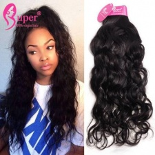 Bundle Deals Brazilian Water Wave Virgin Remy Human Hair Extensions Premium 100 Real Hair Pieces Online