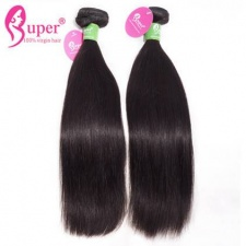 Peruvian Straight Hair 3 or 4 Bundles Premium Real Virgin Remy Human Hair Extensions Cabelo Humano