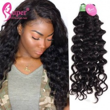 Peruvian Virgin Remy Jerry Curly Weave Black Human Hair Extensions 3 or 4 Bundle Deals Cheap Wholesale Price