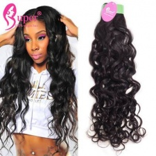 Peruvian Virgin Hair Water Wave 3 or 4 Bundles Premium Cheap Natural Remy Human Hair Extension Sale Cabelo Humano