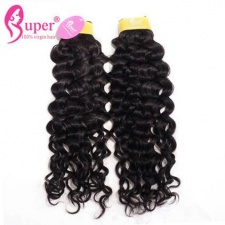 Premium Virgin Remy malaysian Jerry Curly Weave Cheap Real Human Hair Extensions Bundle Deals 3 or 4 Pcs Natural Black