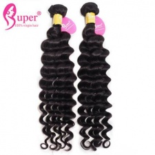 Malaysian Deep Wave Virgin Hair Bundle Deals 3 or 4 PCS Premium Real Remy Human Hair Extensions For Sale Cheveux Naturel