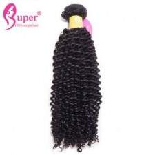 3 or 4 Bundle Deals Premium Malaysian Afro Kinky Curly Weave Real Virgin Remy Human Hair Extensions Natural Black