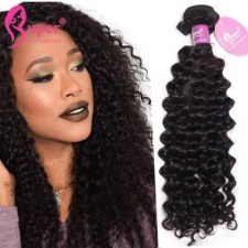 Premium Indian Curly Human Hair Weave 3 or 4 Bundles True Virgin Remy Professional Hair Extensions Cabelo Humano