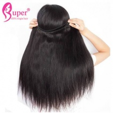 Beauty Mink Hair Real Unprocessed Brazilian Virgin Remy Straight Hair Extension Single Donor High Quality
