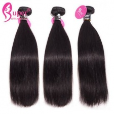 Best Virgin Remy Eurasian Natural Straight Human Hair Extensions 3 or 4 Bundle Deals Cabelo Humano