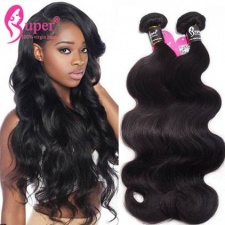 Premium Real Virgin Remy Eurasian Body Wave Human Hair Extensions Wholesale Price For Sale