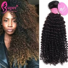 Brazilian Kinky Curly Virgin Hair Weave 3 or 4 Bundles Cheap Remy Human Hair Extensions Cabelo Humano Cacheado