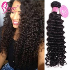 Curly Weave Human Hair Extensions 3 or 4 Bundles Tissage Bresilienne Deluxe Standard Remy Hair Cheap Wholesale Price
