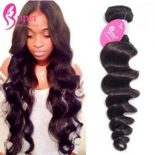 Loose Wave Remy Human Hair Extensions 3 or 4 PCS General Standard Cheap Bundles Of Weave