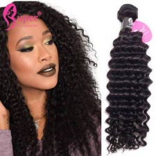 Bundle Deals Burmese Deep Curly Weave Virgin Remy Hair Extensions Wholesale Cabelo Humano Cacheado