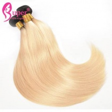 1b 613 Blonde Ombre Hair Extensions 100 Human Hair Straight High Quality