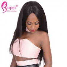 Lace Front Wigs For Black Women Good Cheap Straight Human Hair Discount Price