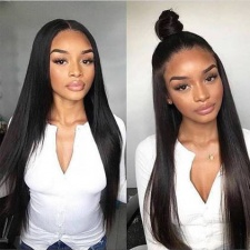 180% Density Full Lace Wigs For Black Women Best Natural Straight Human Hair