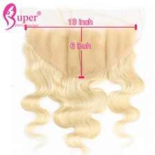 Lace Frontal Closure 13x6 613 Blonde Body Wave Human Hair