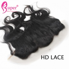 hd Lace Frontal 13x4 Brazilian Body Wave Virgin Human Hair Very Thin Skin Swiss Lace
