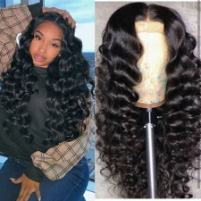 Wet And Wavy Full Lace Human Hair Wigs With Baby Hair Bleached Knots 150% Density 100% Real Virgin Hair Luxury Top Quality