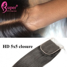 5x5 HD Lace Closure Brazilian Straight Hair Wholesale Vendor Near Me