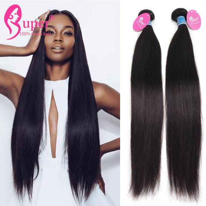 Brazilian Straight Human Hair Unprocessed Hair Extensions