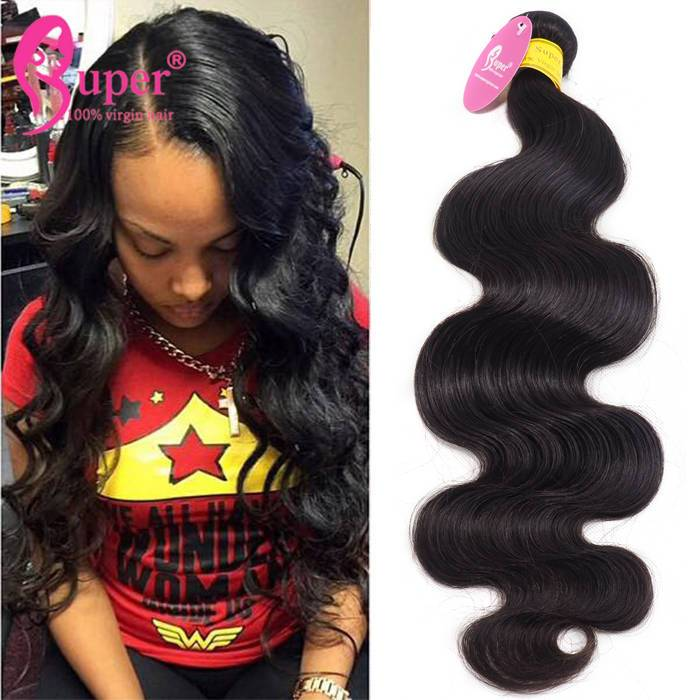 Unprocessed Body Wave Malaysian Hair Weave