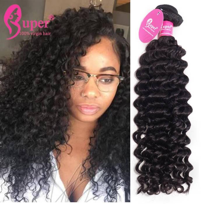 Cabelo Humano Cacheado Curly Remy Human Hair Weave Bundles