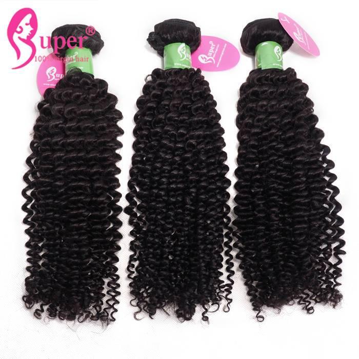 Afro Kinky Curly Peruvian Hair Bundle Deals 3 Or 4 Pcs Lot