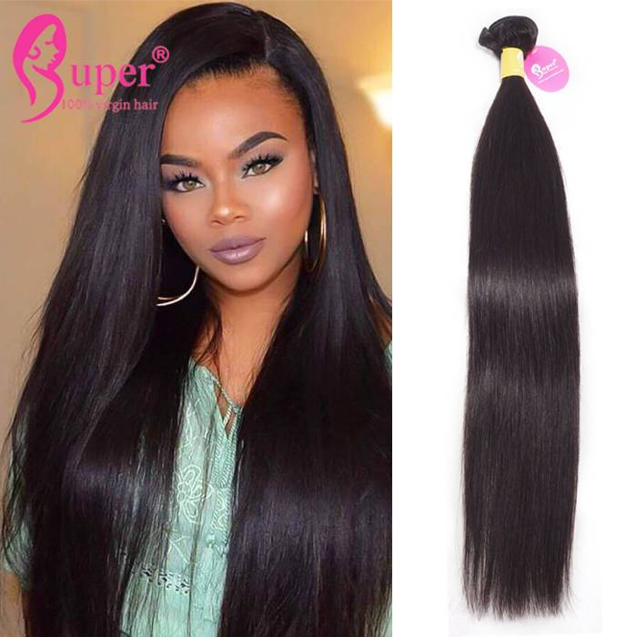 Cheap Wholesale Malaysian Straight Human Hair Weave