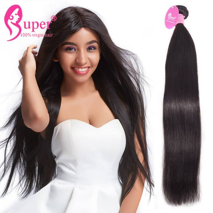 Cheveux Humain Straight Peruvian Virgin Human Hair Weave