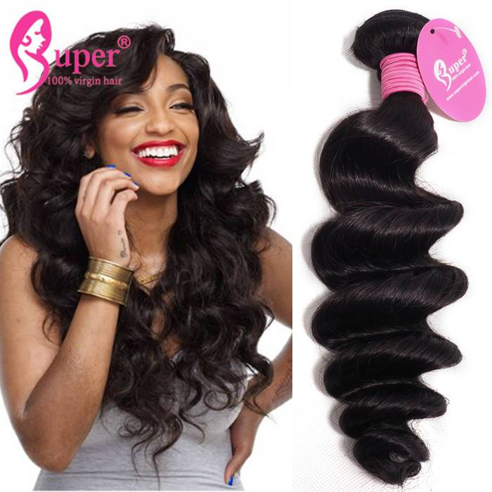 Loose Wave Remy Hair Extensions Malaysian Hair Weave