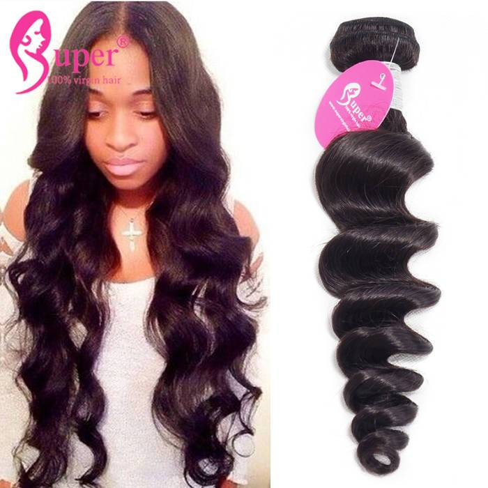b1fbd094d1e Loose Wave Remy Human Hair Extensions - Cheap Bundles of Weave
