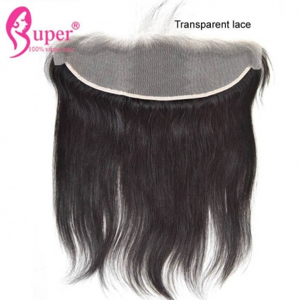 transparent straight frontal