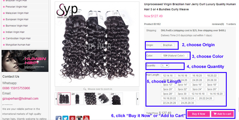 Place Order On Website To Buy Hair Extensions Online