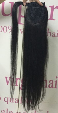 wrap around human hair extension